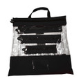 Black Clear Organizing Bag
