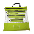 Lime Clear Organizing Bag