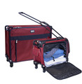 "26"" Red Medium Pullman + 20"" Red Regulation carry on suiter"