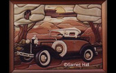 MODEL A ROADSTER INTARSIA PATTERN