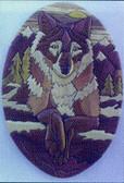 LONE WOLF INTARSIA PATTERN
