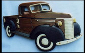 OLD PICKUP INTARSIA PATTERN
