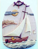 SAILBOAT INTARSIA PATTERN