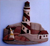 LIGHTHOUSE INTARSIA PATTERN