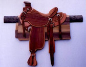 SADDLE INTARSIA PATTERN