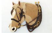 DRAFT HORSE INTARSIA PATTERN