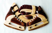 HOCKEY SKATES INTARSIA PATTERN