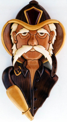 OLD FIRE FIGHTER INTARSIA PATTERN PS Wood Machines Mesmerizing Intarsia Patterns