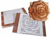 ROSE INTARSIA KIT
