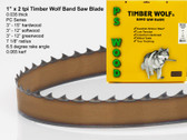"1"" x 2PC Series Timber Wolf® band saw blade"