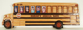 School Bus Frame Intarsia Pattern