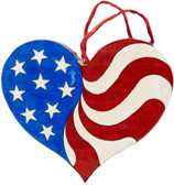 PATRIOTIC HEART PATTERN