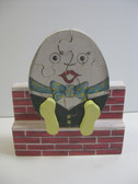 HUMPITY DUMPITY PUZZLE ON A BRICK WALL PATTERN