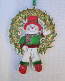 WREATH & SNOWMAN ORNAMENTS PATTERN