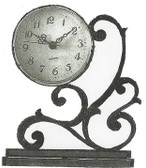 SHELF CLOCK with BRACKET PATTERN