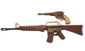 GUN/PISTOL INTARSIA PATTERN