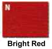 BRIGHT RED FLOCKER KIT (Rayon)