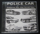 6 POLICE CAR PATTERNS DISC