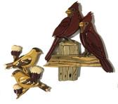 BIRDS Intarsia Pattern