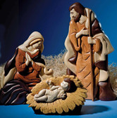 NATIVITY THREE Intarsia Pattern