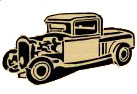 RAT ROD TRUCK PATTERN