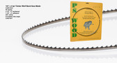 "1/4"" x 4PC Series Timber Wolf® band saw blade"