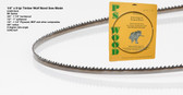 "1/4"" x 8RK Series Timber Wolf® band saw blade"