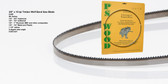 "3/8"" x 10RK Series Timber Wolf® band saw blade"