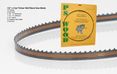 "1/2"" x 4PC Series Timber Wolf® band saw blades"