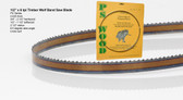 "1/2"" x 6PC Series Timber Wolf® band saw blades"