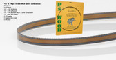"1/2"" x 14RK Series Timber Wolf® band saw blades"