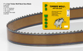"1"" x 4PC Series Timber Wolf® band saw blade"