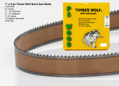 "1"" x 6PC Series Timber Wolf® band saw blade"
