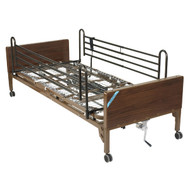 Delta Ultra Light Semi Electric Bed with Full Rails - 15030bv-fr