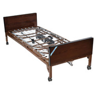 Delta Ultra Light Full Electric Bed With Full Rails and Innerspring Mattress - 15033bv-pkg