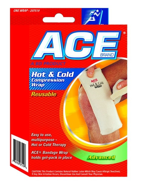 3M CONSUMER: ACE Hot and Cold Compression Wrap - Robert