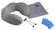 Neck Support Pillow with Inserts Comfort Touch