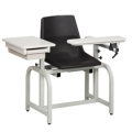 Standard Blood Drawing Chairs - 300LBS - Capacity