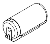 Capacitor - DEC610  -  (Part No: 3800-067 or 015-0437-00)