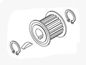 Lift Motor Pully Kit For Chairman Dental Chair - PCK792 (OEM: 007575)