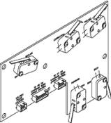 Limit Switch PC Board - PCB733 (OEM No: 3006629)
