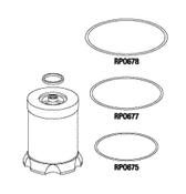 Coalescing Filter For Dental Compressor Part - CMK025
