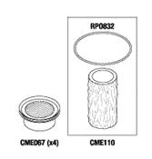 Compressor PM Kit For Dental Compressor - CMK177