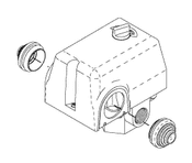 Pressure Switch For DentalEZ Dental Compressor - CMS054