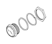 Sight Glass (Oil) For Dental Compressor - PCG634