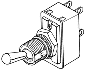 On Off Switch For Gomco Thermotic Pump - GOS030