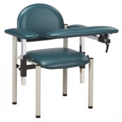 Booth Medical - Clinton 6050-U Padded Blood Drawing Chair