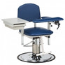 Clinton H Series Hydraulic Padded Blow Drawing Chair With Drawer