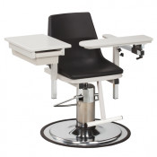 Clinton EZ Clean Hydraulic Blood Drawing Chairs