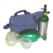 Mada M7 Oxy-Uni-Pak Oxygen Resuscitation Kit with Carry Bag - 1301BME